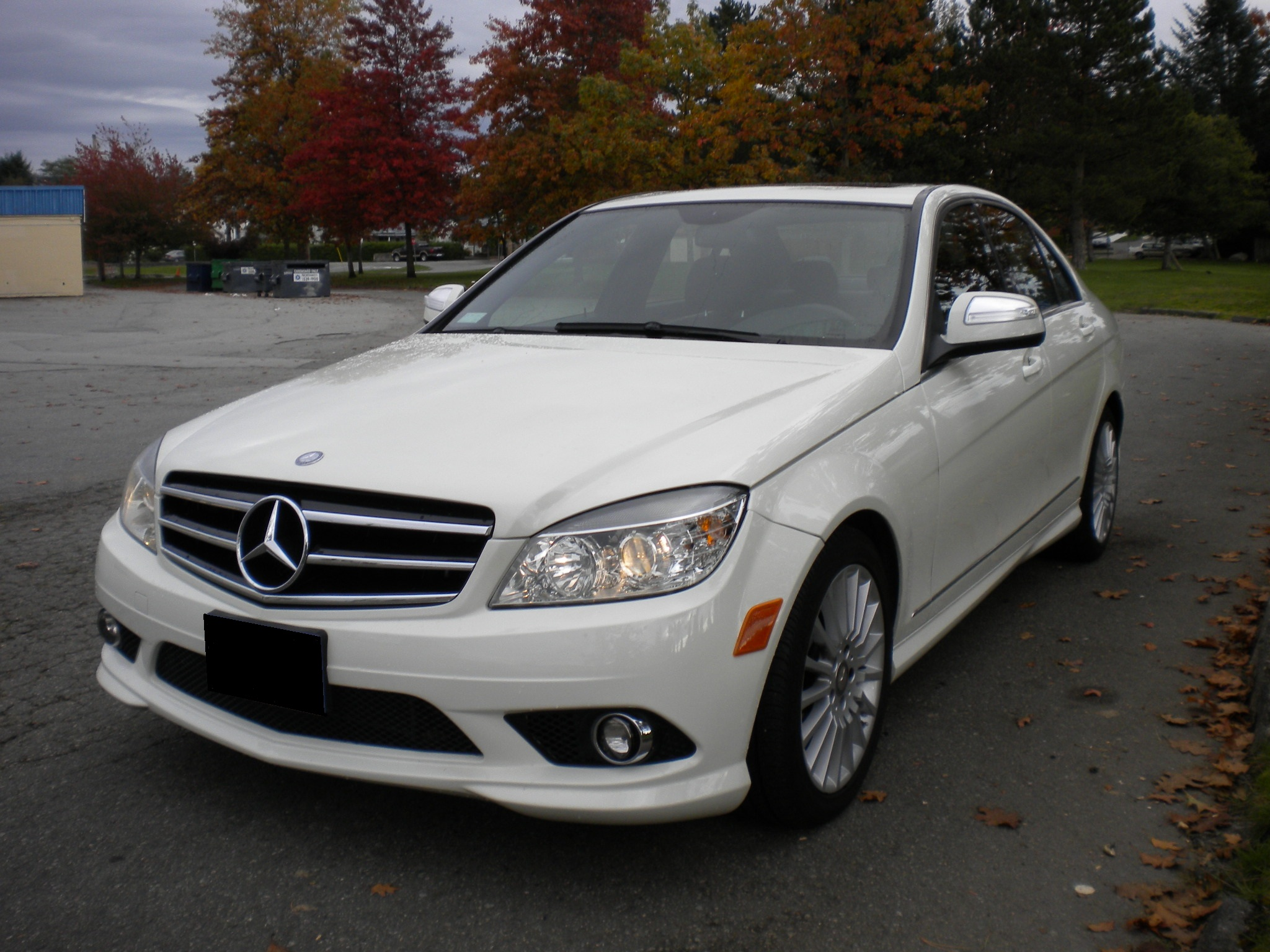 2009 mercedes benz c230 axis auto
