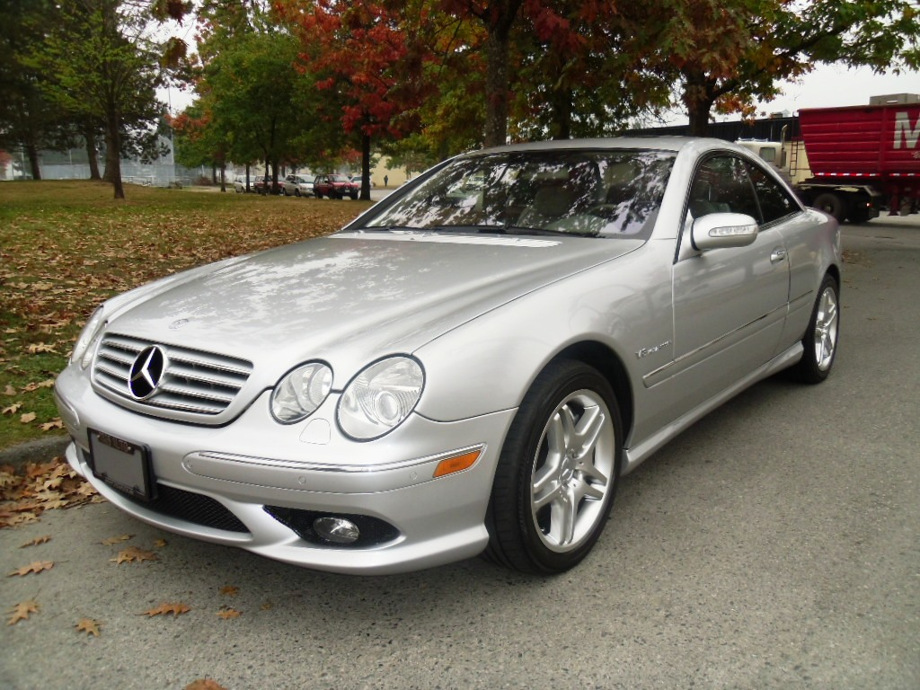 2005 mercedes benz cl55 amg