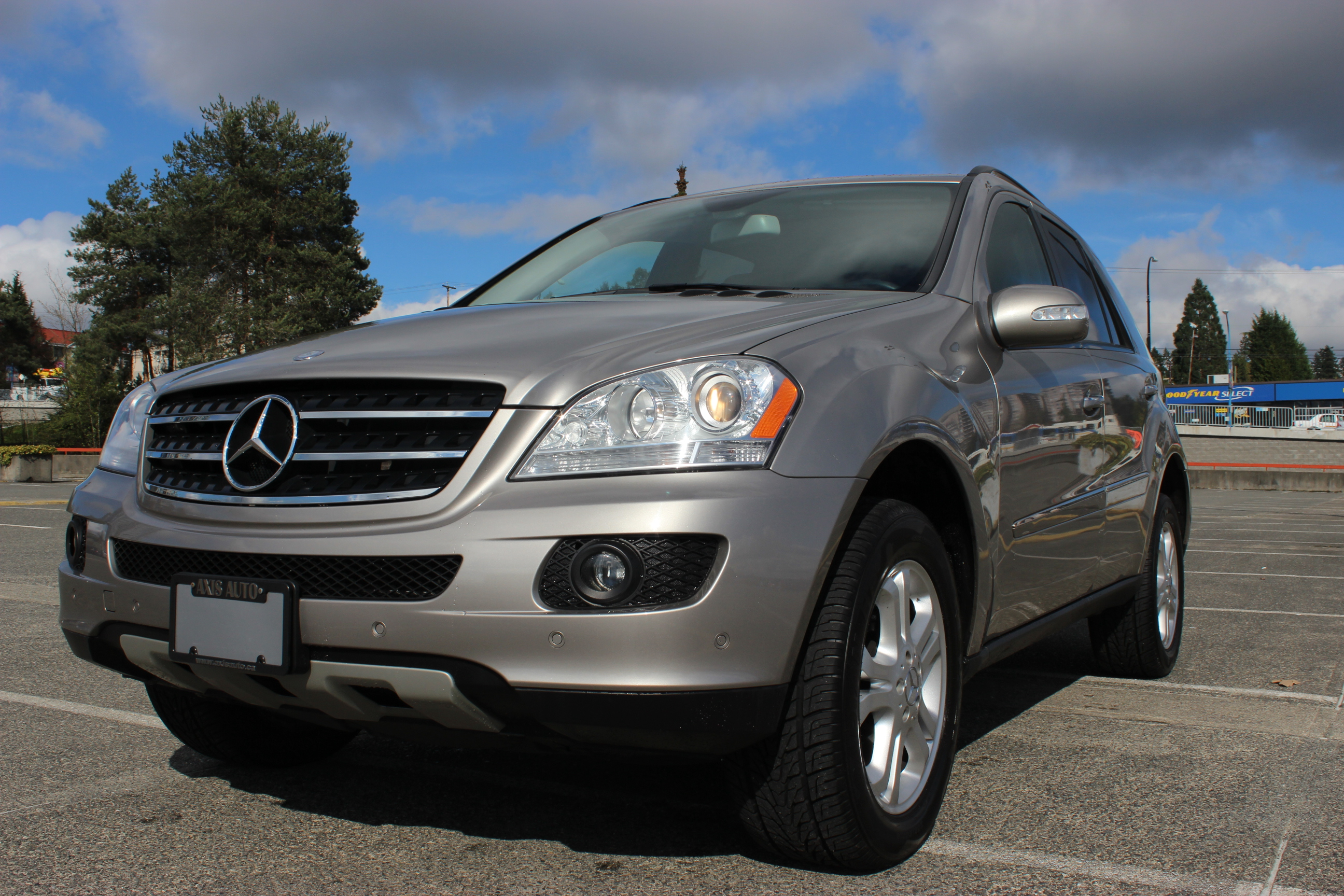 2007 mercedes benz ml350 4matic axis auto. Black Bedroom Furniture Sets. Home Design Ideas