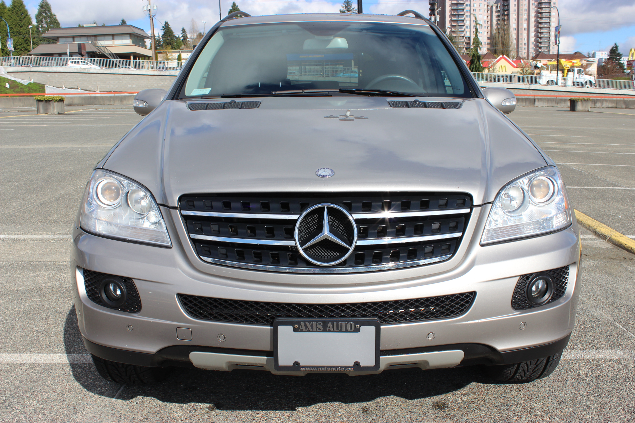 2007 mercedes benz ml350 4matic axis auto