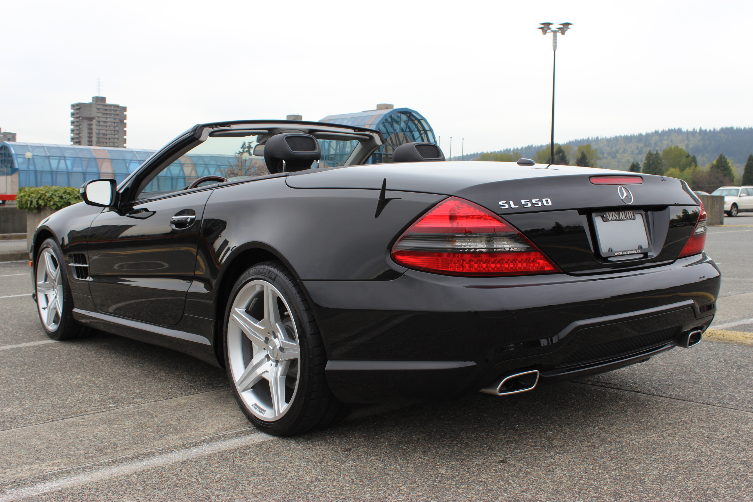 2009 mercedes benz sl550 roadster axis auto for 2009 mercedes benz roadster