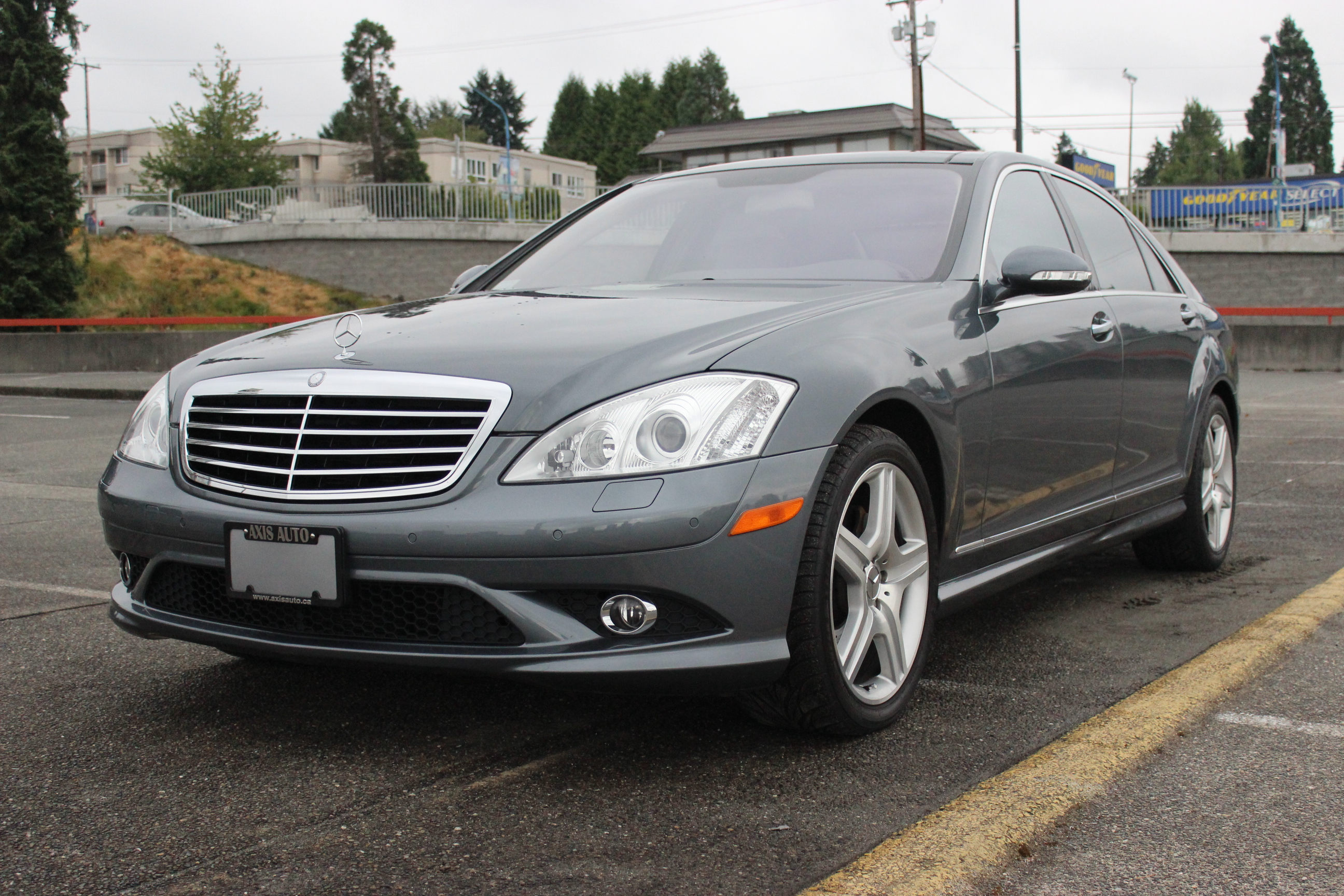 2007 mercedes benz s550 axis auto for Mercedes benz s550 2007