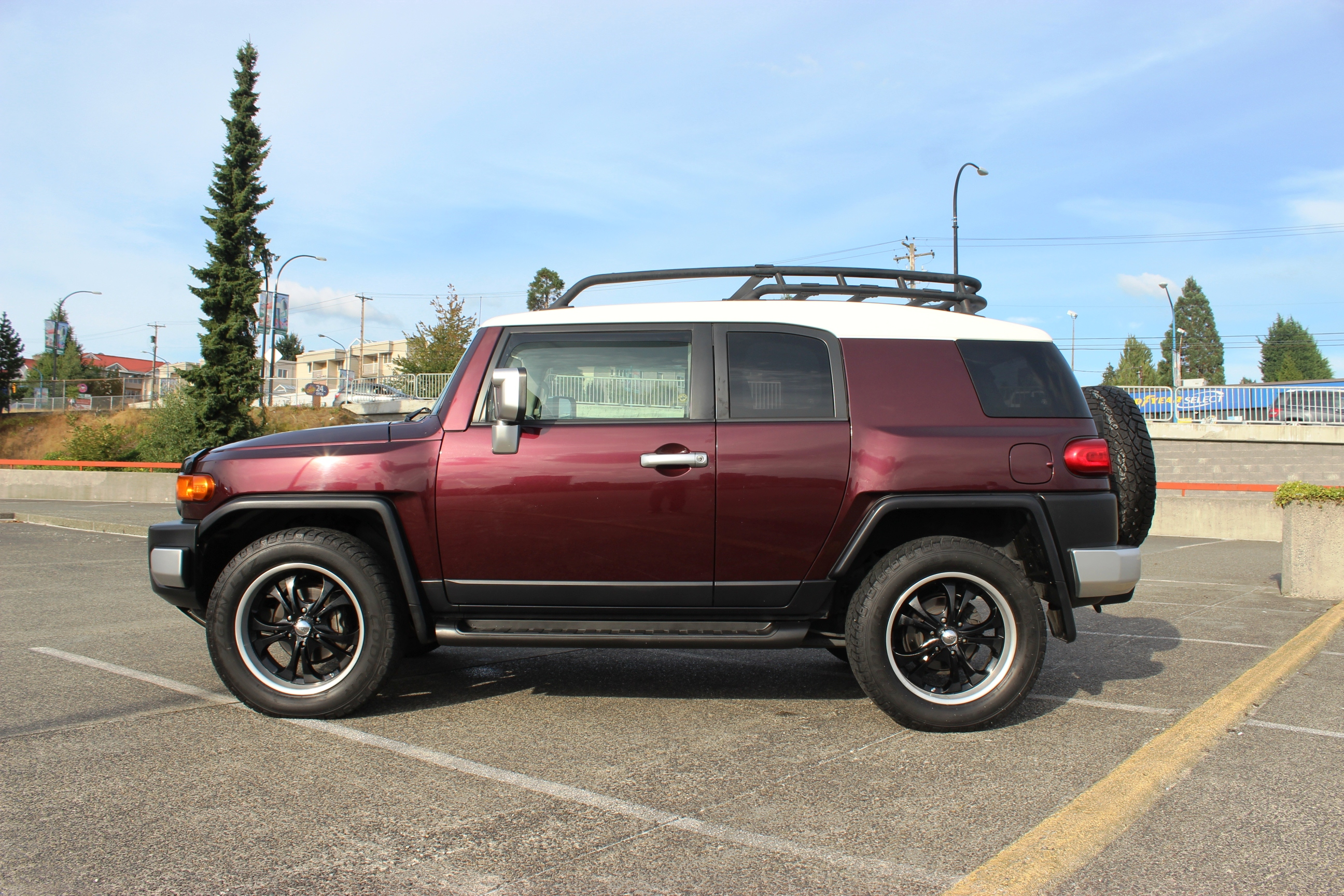 2007 toyota fj cruiser c pkg axis auto. Black Bedroom Furniture Sets. Home Design Ideas